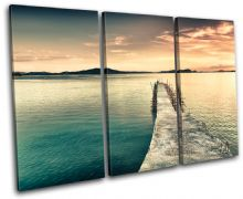 Pier  Phillippines Sunset Seascape - 13-0301(00B)-TR32-LO